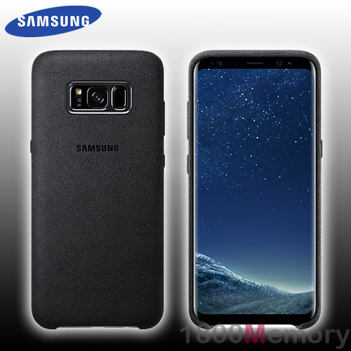 watch 41f01 73e00 Details about GENUINE Samsung Galaxy S8 SM-G950 Alcantara Back Cover Case  Suede-Like Dark Grey