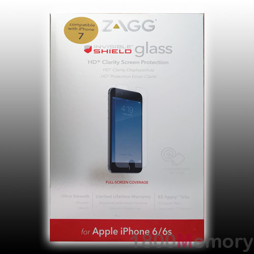 how to clean zagg screen protector sticky side