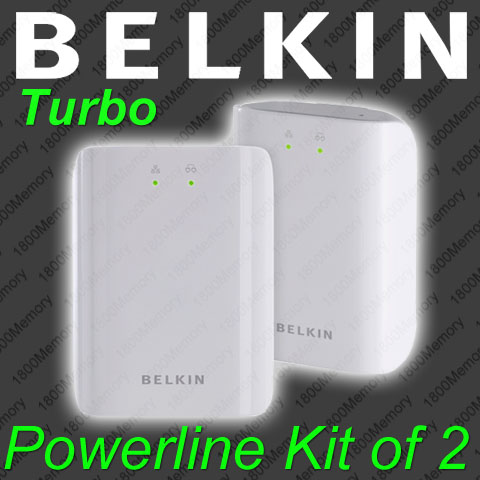 BELKIN-Turbo-85Mbps-Powerline-Fast-Ethernet-Network-Adapter-Kit-of-2