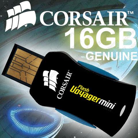 CORSAIR Flash Voyager Mini 32GB Rugged USB Thumb Drive
