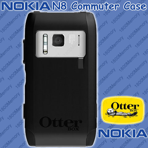 GENUINE OtterBox Commuter Case for Nokia N8 HD Black with ...