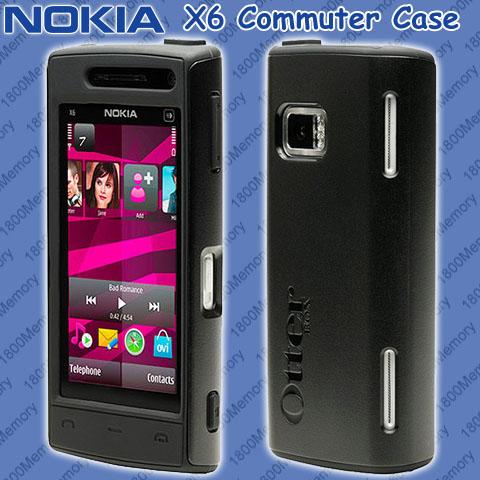 GENUINE OtterBox Commuter Case for Nokia N8 Black HD