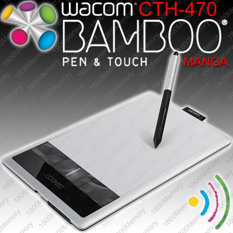 wacom bamboo cth-470 driver