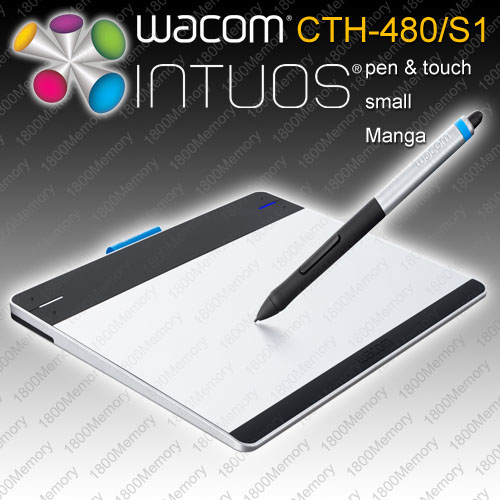 Wacom Intuos Creative Pen Touch Small Tablet CTH 480 Optional Wireless Kit | eBay