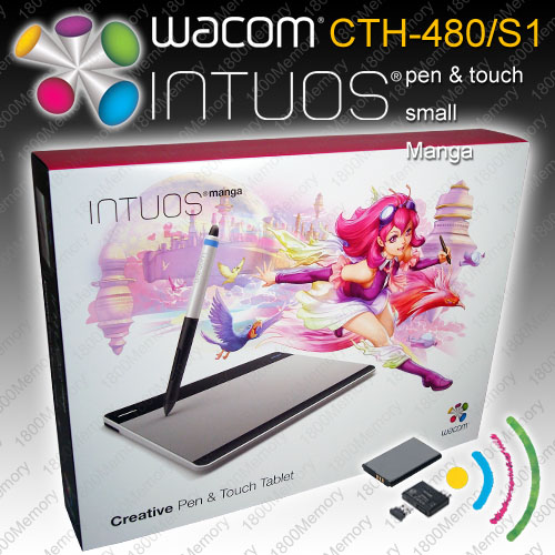 wacom intuos pen and touch cth-490 driver